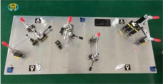 China Auto P21 Part Project Cmm Inspection Fixtures Special With 4 Piece Base Feet supplier