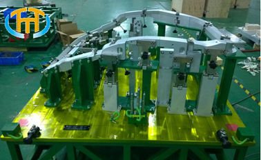 China Customized  Robotic Welding Fixtures For Automotive Left Cubing 1560 * 1390 * 1100mm supplier