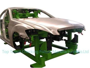 China 1500kg Automated Body In White Automotive Welding Fixture With Metal Color supplier
