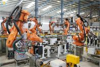 China Automated Robotic Welding Systems For Automotive Production Assembling line factory