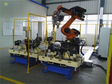 Automotive Automated Production Assembling Systems , Line Type Arc Welding Systems