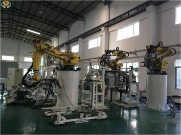 China Vehicle Part Robotic Welding Systems - Layout / Running assme For Auto Part factory