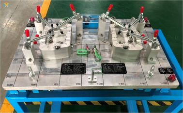 Construction Of Production Checking Fixture For Automotive Stamping Part