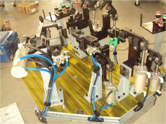 Customized Robotic Welding Systems With Spot Welding Fixture For Automotive Parts
